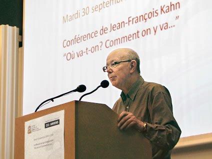 Jean-François Kahn, porte-parole du MoDem ?