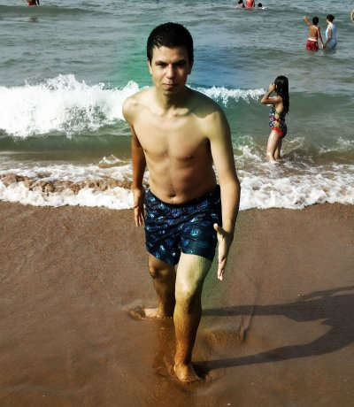Qlq photos que j'ai pris à la plage en 2010