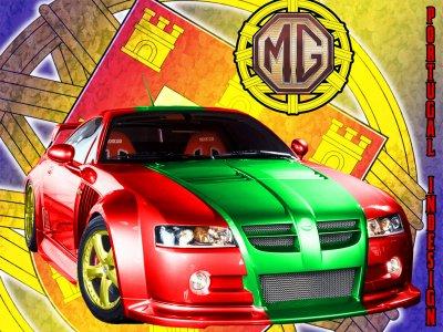 je suis fiere d etre portugai et je le montre meme sur la voiture  mes couleur de ma fierete
