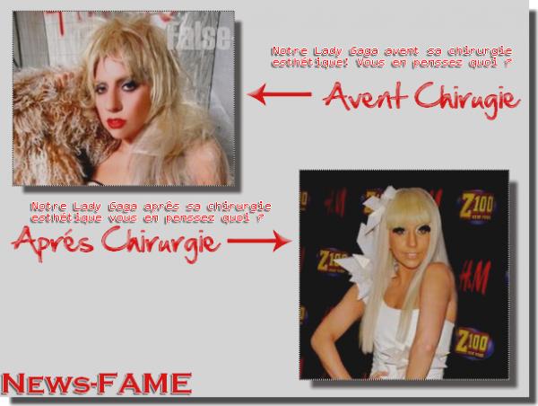 Lady Gaga pas toujours sexy :-(