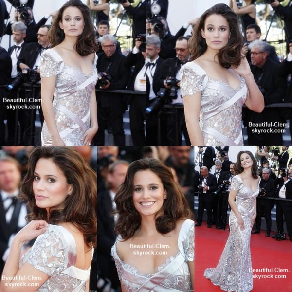 Lucie Lucas au Festival de Cannes - 20 Mai 2017
