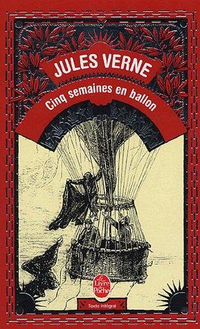 Cinq semaines en ballons de Jules Vernes
