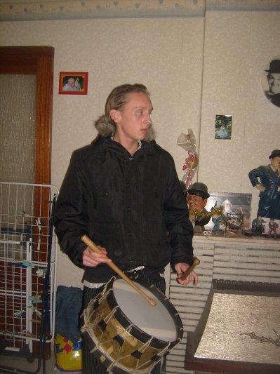 moi avec mon tambour