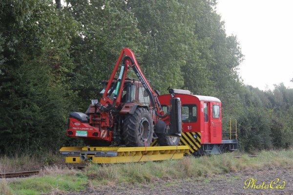 Le f140 se promène en train