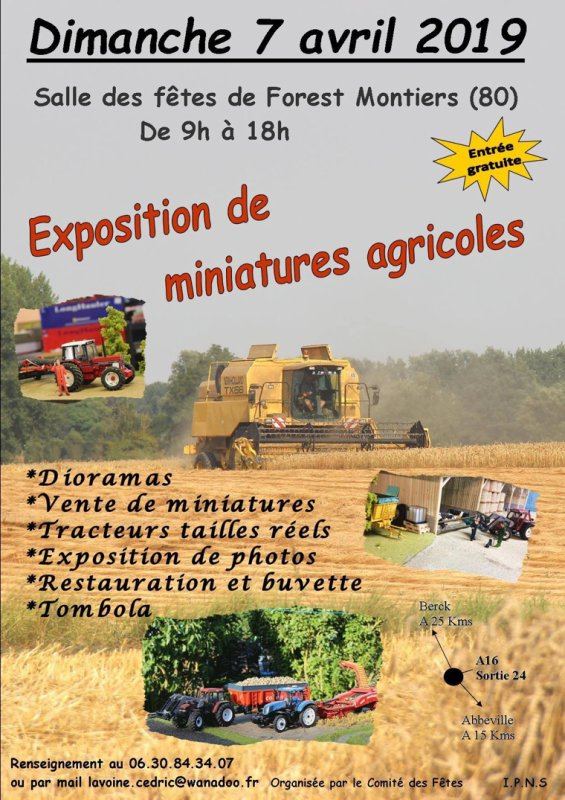 Annonce expo Forest Montiers