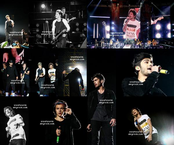 04 mai 2014 ✈ Buenos Aires, Argentine : Le sixième concert de la tournée du WWAT a été une seconde fois à Buenos Aires en Argentine.   Deux nouvelles photos en noir et blanc une de Niall et une de Louis comment les trouvez vous ? Les vidéos arriveront vite j'espère..