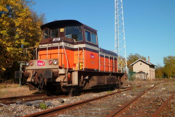 Y8118 à BTZ
