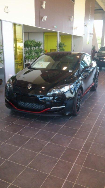 Mégane 3 RS noir