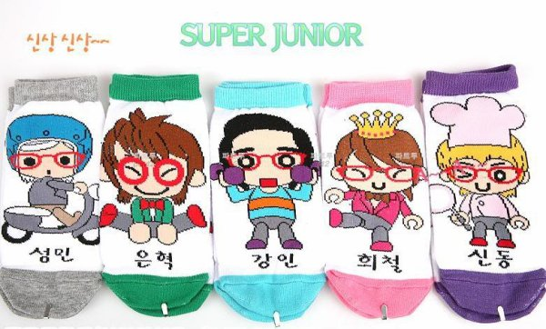 Chaussettes Super Junior