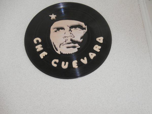 Che Guevara sur vinyle fait pour une cliente, Merci à tous pour votre confiance...