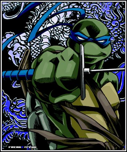 Wallpaper leonardo tmnt tortue ninja 2003 - Tortue ninja 2003 ...