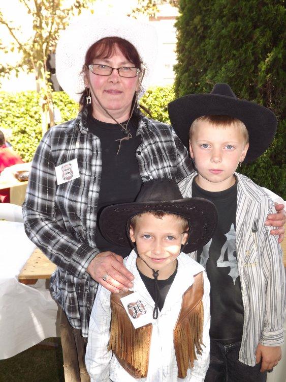 moi et mes deux enfants
