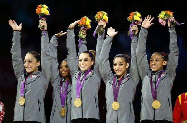 Les USA championnes olympiques par équipe !