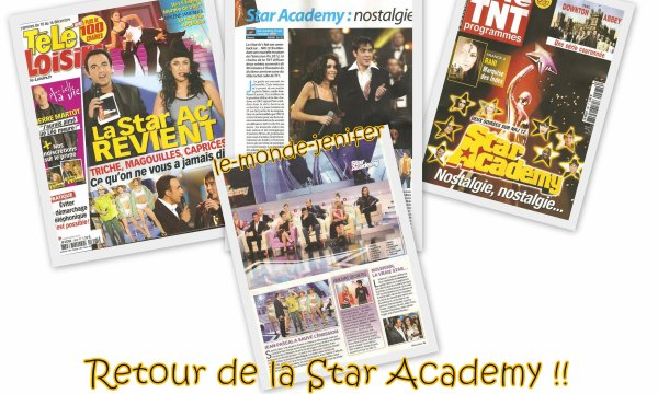Les 10 ans de la Star Academy !