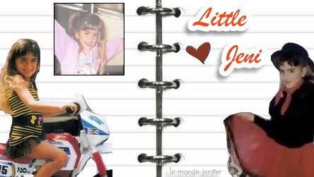 L'enfance de Jenifer  Merci à ELLE