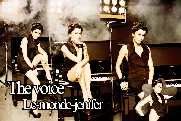 Photoshoot pour The Voice. <3 Merci à BeautifulMariska.