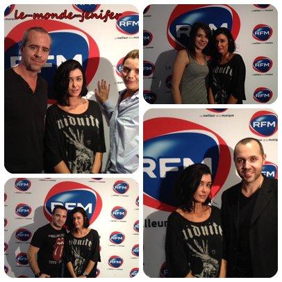 Jenifer sur RFM, le 29 Juin 2o12.