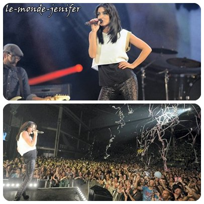 Jenifer - L'amour et moi @ Hit West Live - Nantes - 27.09.12