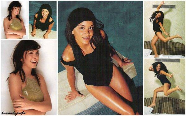 Les photocards de 2oo2 : Jenifer se dévoile pour vous