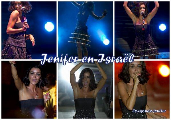11 Aout 2o11, Jenifer en concert en Israël.