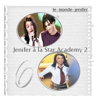 6 Septembre 2oo2 Jenifer à la Star Academy 2