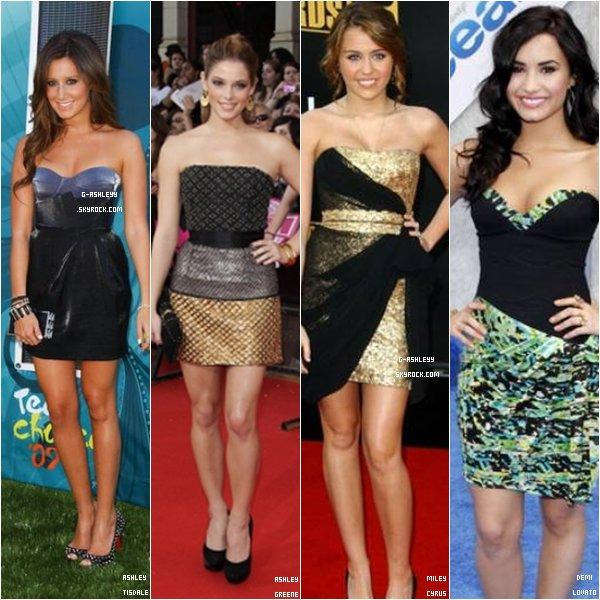 . Qui porte le mieux la robe bustier ?  . ESAPCE PUB ~ ( 3 vrais et t'as ton lien - précise ) .