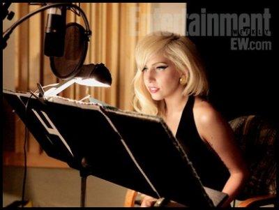 Lady Gaga dans la Saison 23 des Simpsons !
