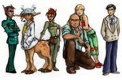 Les personnages principaux !