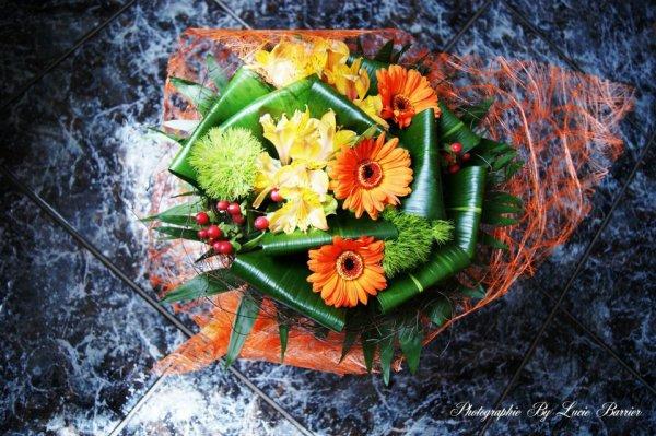 C'est pas tout les jours que l'on reçois un bouquet :)