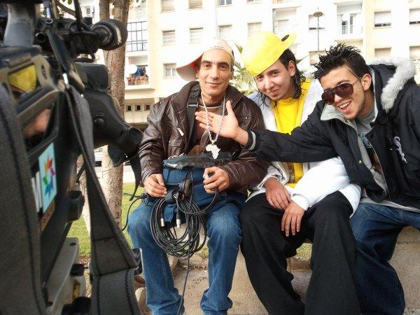 Adam (Ache3la) et Yahya (SNK RAP) sur L'émission Grand Angle