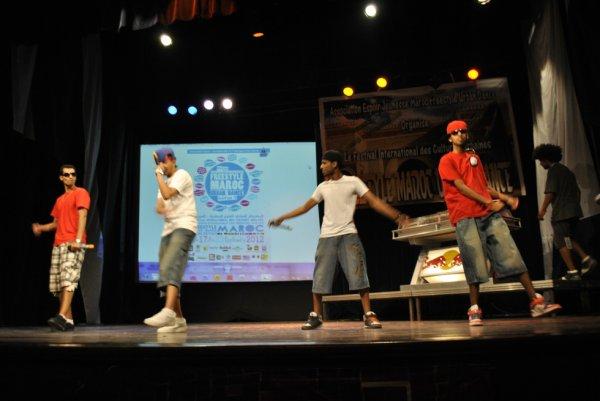 Ache3la - Invité au festival Freestyle Maroc Urban Dance 2012