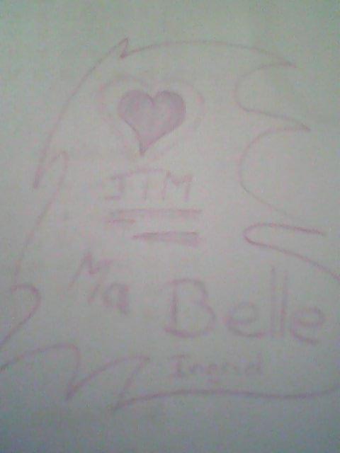 Mon dessin pour toi !!! =D <3<3