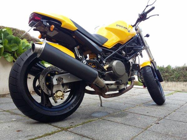 Nouvelle achat un Ducati 600 monster a bon prix