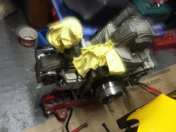 suite démontage moteur