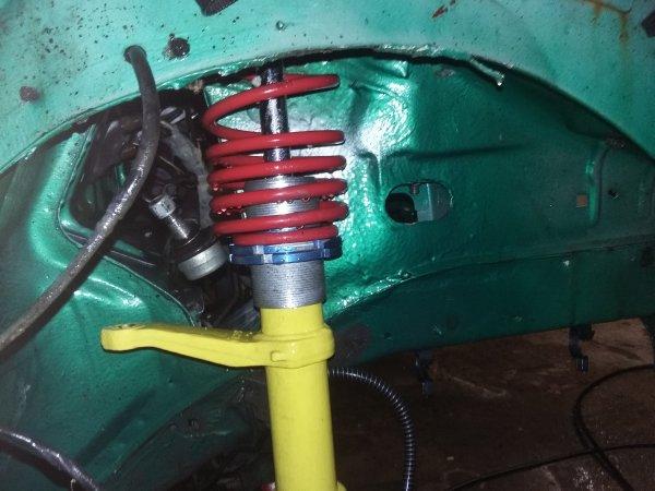 Nettoyage compartiment moteur et ponçage