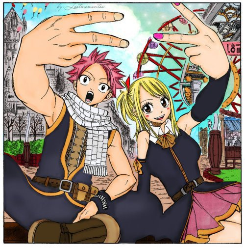Fiction #2 - Bienvenue au lycée Fairy Tail