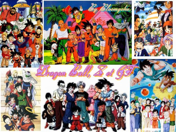 Dragon ball, Z et GT