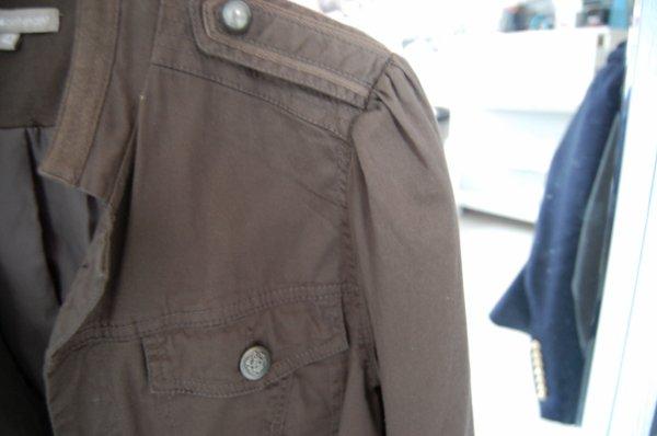 veste style army marron/kaki
