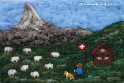 Des Shetland à la montagne