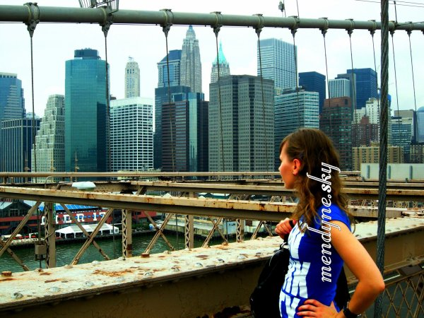 Brooklyn Bridge, New-York <3