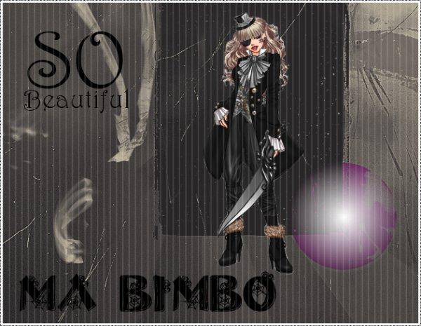 """- - Blog consacré à présent au Concours du site """"Ma Bimbo""""!- -"""