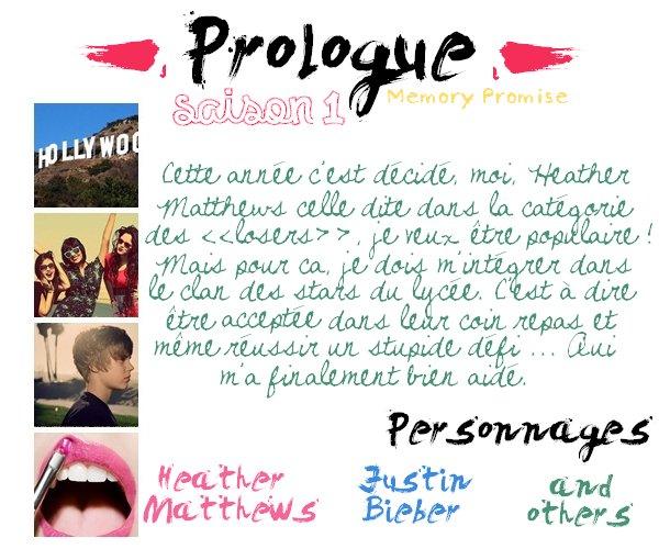 Prologue - Saison 1