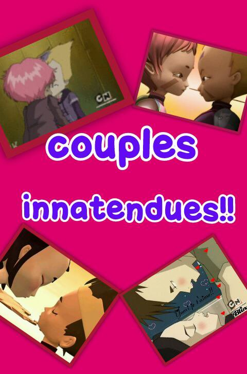 Chapitre 2: couples innatendues
