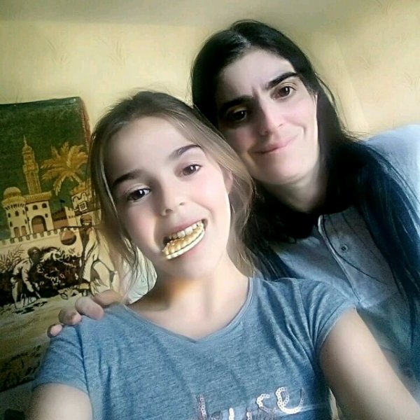 Moi et ma fille Manon