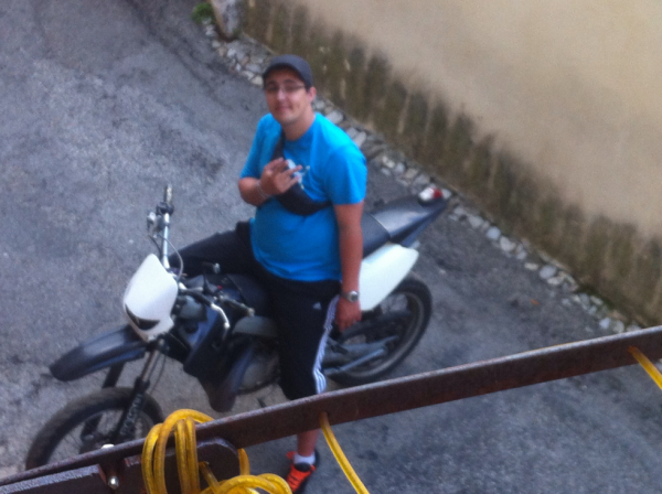 moi sur ma moto