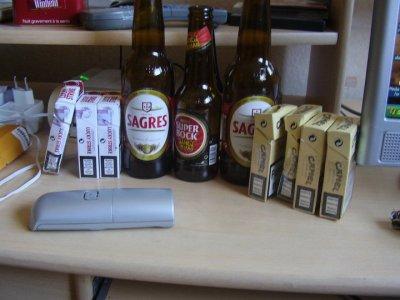 alcool et clope au Portugal =)