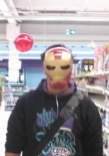 my name is man , iron man x)