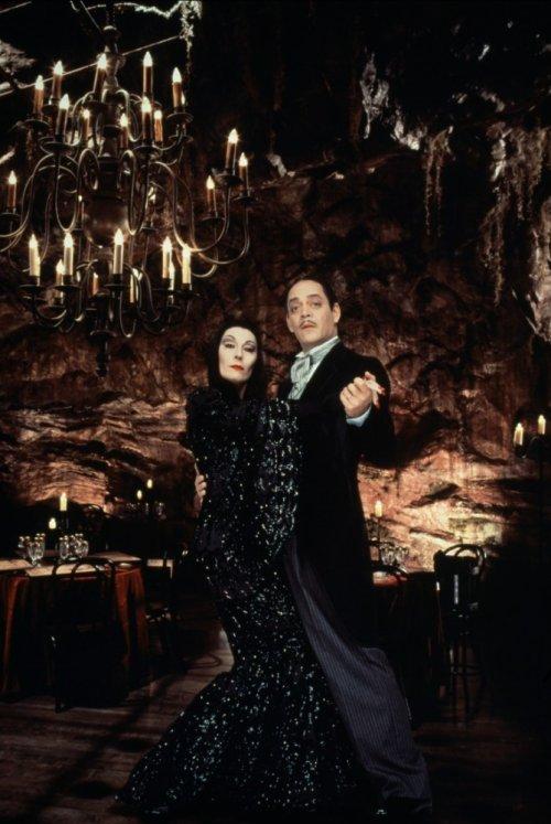 Morticia et Gomez Addams