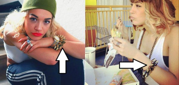 Dafina Zeqiri kopjon Rita Ora