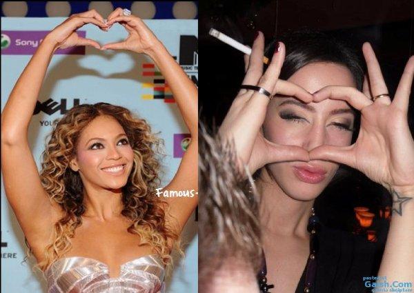Dafina Zeqiri kopjon Beyonce